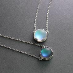 Thaya Aurora Pendant Necklace Halo Crystal Gemstone Silver Scale Light Necklace for Women Elegant Jewelry Gift - Sahumart Cute Jewelry, Jewelry Gifts, Jewelry Accessories, Jewelry Design, Geek Jewelry, Gothic Jewelry, Designer Jewelry, Fashion Accessories, Women Jewelry