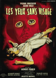 French grande for EYES WITHOUT A FACE (Georges Franju, France, 1960)  Artist: Jean Mascii (1926-2003)  Poster source: Heritage Auctions