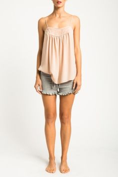 Shop our Pintuck Tank online http://www.hautehippiestore.com/shop-1/haute-hoodie-her/our-pintucked-tank.html