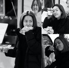 B&W 한지민 Han Ji Min, Jimin, Korea, Actresses, People, Female Actresses, People Illustration, Korean, Folk