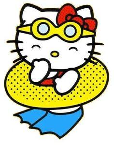 Inner tube kitty!