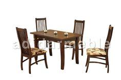 HOLDEN Stół + 4 krzesła, galeria zdjęć