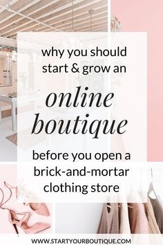 Want to Open a Clothing Boutique? Here's Why You Should Start an Online Boutique First Want to open a local retail boutique? Click this pin to learn why you should start and grow an online boutique before opening a physical location! Retail Boutique, Mobile Boutique, Boutique Stores, Children's Boutique, Boutique Clothing, Fashion Boutique, Boutique Names, Wholesale Boutique, Boutique Ideas