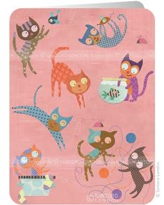 Illustrations from the very talented Linda Solovic. Find her work on Etsy.com. You will love it!