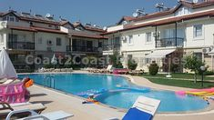 Large 4 bedroom duplex apartment 2 minutes walk to the sea. Situated close to Calis beach Resort. Fully furnished ready to move in to Apartment.