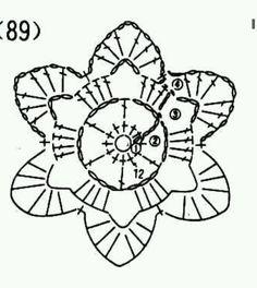 Picasa Web Albums - crochet motif pattern diagram