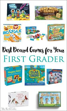 Board games 242842604890499627 - Incorporate board games into your homeschool or classroom with these 10 best board games for first grade! Source by cassie_osborne Educational Board Games, Math Board Games, Family Board Games, Board Games For Kids, Kids Board, Fun Games, Dice Games, Educational Activities, Party Games