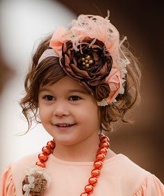 Persnickety Little Girls Pink Vintage Headband  $52.00