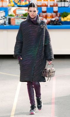 Chanel Fall 2014 - The Chanel Fall 2014 fashion show at Paris Fashion week  had a grocery store theme. e6eecc27f7f
