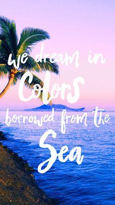 We Dream In Colors Borrowed From The Sea   Pura Vida Bracelets - Digi Downloads