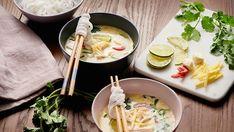 Vyzkoušejte luxusní thajskou kokosovou polévku, po které se budou všichni ještě dlouho olizovat! Polish Recipes, Polish Food, Ramen, Chili, Ethnic Recipes, Cilantro, Chile, Polish Food Recipes, Chilis