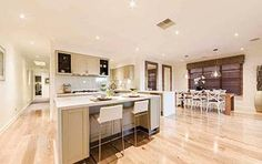 Omeo - Simonds Homes Simonds Homes, Beautiful Space, Home Builders, New Homes, Dining, Interior Design, Kitchen Ideas, Table, House Ideas
