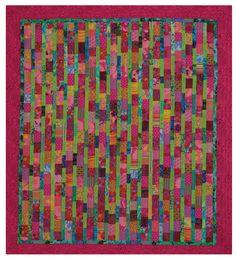 batiks - two color scheme