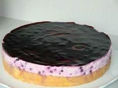 Rezept: Heidelbeer-Joghurt-Torte