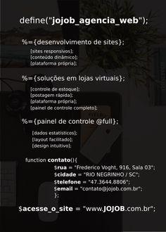 Pré Impressão Flyer JOJOB AGÊNCIA WEB [verso]