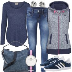 Freizeit Outfits: PinkDetails bei FrauenOutfits.de