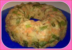 No gluten! Yes vegan!: Ciambella di patate, asparagi, carote e noci