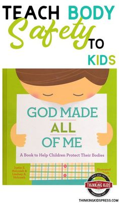 Looking for body safety rules for kids? Help children protect their bodies with Christian book God Made All of Me - the human body for kids. Best Children Books, Books For Boys, Children And Family, Kids And Parenting, Parenting Hacks, Safety Rules For Kids, Childrens Book Shelves, Book Log, Prayer For Family