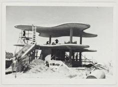 Club Ariston, 1948, Mar del Plata, by Marcel Breuer, Eduardo Catalano and Francisco Coire