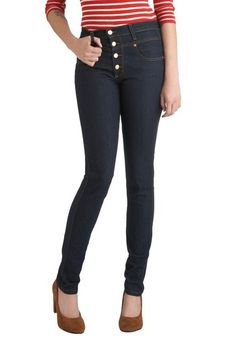 Karaoke Songstress High-Waisted (Dark Wash) Jeans