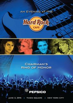Brochure design for PepsiCo's Ring of Honor celebration
