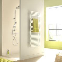 Acova Cala White Towel Warmer (H)1761mm (W)600mm   Departments   DIY at B&Q
