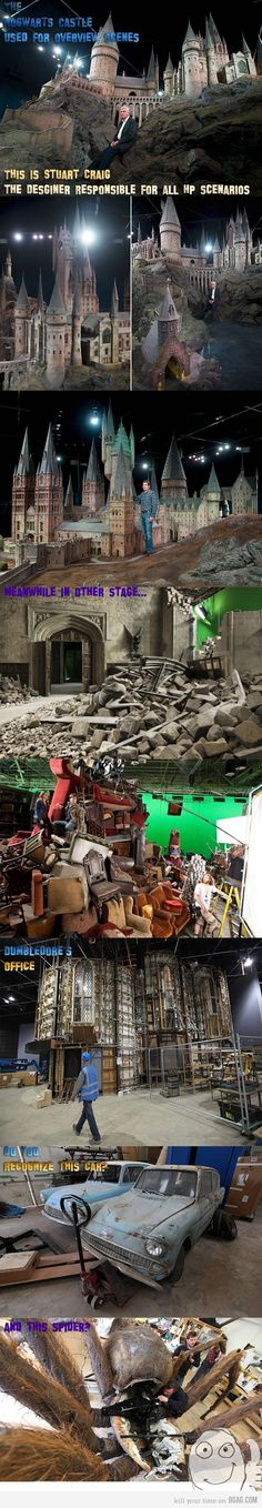 Hogwarts Behind the Scenes Harry Potter Friends, Harry Potter Set, Harry Potter Characters, Yer A Wizard Harry, Mischief Managed, Best Funny Pictures, Hogwarts, Behind The Scenes, The Book