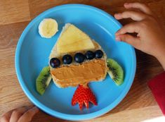 Perfect Snack Idea for the kiddos!  Fun and Healthy!