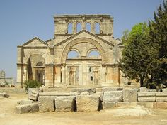 Ruins of St Simeon Stylites _ Northern Syria