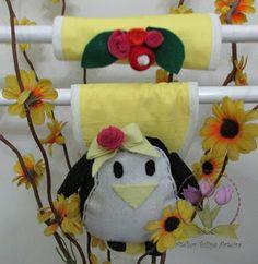 Ateliê Tulipa Arteira : Capa para Puxador de geladeira em feltro