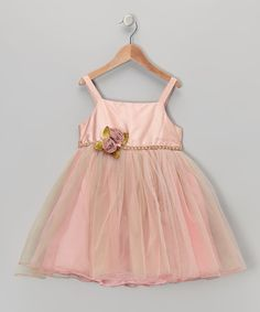 Look what I found on #zulily! Pink Champagne Delight Dress - Infant by C'est Chouette #zulilyfinds