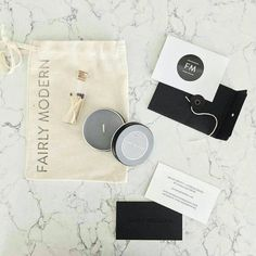 Custom cotton drawstring bags — perfect second life packaging. Designed by Fairly Modern. #madewithlumi