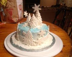 Winter Cake....another incredible cake i wish i could make lol