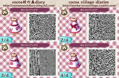 Cute strapless dress animal crossing QR