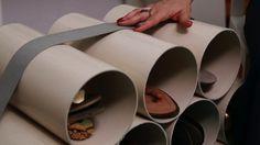 Personal organizer ensina como criar uma sapateira alternativa com tubos de PVC - Santa Ajuda - GNT