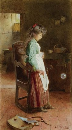 Soap Bubbles ~ Carlton Alfred Smith ~ (English 1853-1946)