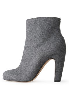 Maison Martin Margiela Line 22.Wool ankle boots- perfect for colder weather.