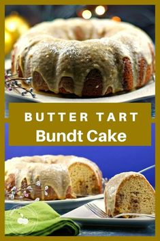 Butter Tart Bundt Cake Butter tart in the form of cake! This delicious Butter Tart Bundt cake has butter tart filling swirled into it and then it's smothered in a decadent brown butter maple glaze. It's the ideal dessert for your Christmas dinner! Holiday Recipes, Dinner Recipes, Dessert Recipes, Tart Filling, Dessert Cookbooks, Butter Tarts, Soft Sugar Cookies, Brown Butter, Christmas Desserts