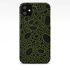Organic - Lime Green iPhone Case by laec | Society6 Iphone 8 Plus, Iphone 11, Iphone Cases, Iphone Skins, Lime, Organic, Green, Iphone Case, Limes