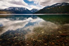 Wallowa Lake (Joseph, Oregon) Went Camping here in 2003 with my future hubby n father in law. It was AWESOME!!