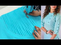 Chudi Neck Designs, Neck Designs For Suits, Sleeves Designs For Dresses, Dress Neck Designs, Blouse Designs Silk, Designer Blouse Patterns, Dress Sewing Patterns, Fancy Dress Design, Stylish Dress Designs