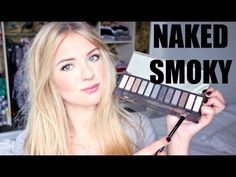 Everyday (french) tutorial using the Urban Decay Naked Smoky palette
