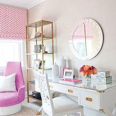Campaign Desk, Contemporary, girl's room, Lillian August