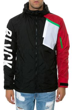 Black Scale Jacket The Overflow in Black - $220