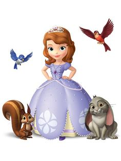 Sofia the First is my favorite Disney princess. Sofia is a little girl, a commoner, until her mom marries the king and she's suddenly royalty. Princess Sofia Birthday, First Disney Princess, Princess Sofia The First, Sofia The First Birthday Party, Disney Princess Costumes, Little Princess, Happy Birthday, Disney Junior, Disney Jr