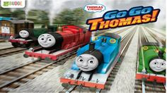 GO GO Thomas (by Budge Studios) Games For Kids Train race Android Gamepl...