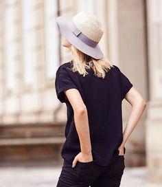 Strand hoed, of gewoon op een mooie lente dag! (€59,95) #Felt #And #Straw #Hoeden #en #caps #Unmade #Copenhagen