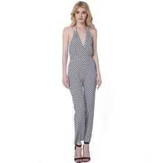 56b484951cc1 strap V neck backless sexy jumpsuit summer Women romper overall body mujer  dot playpsuit combishort combinaison · Jumpsuits ...