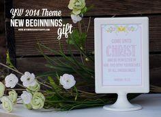 YW 2014 Ideas & FREEBIE!: Introducing the Theme