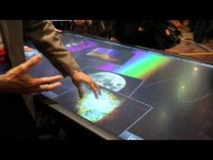3M Touch table at CES 2013